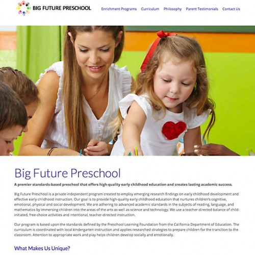 Big Future Preschool